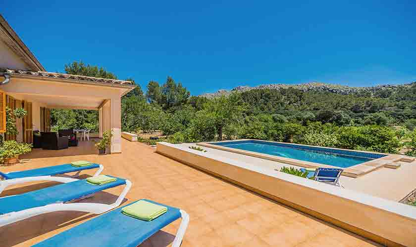 Pool und Ferienfinca Mallorca PM 3852