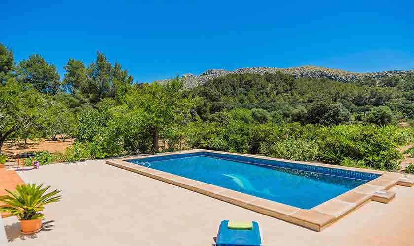 Poolblick Ferienfinca Mallorca PM 3852