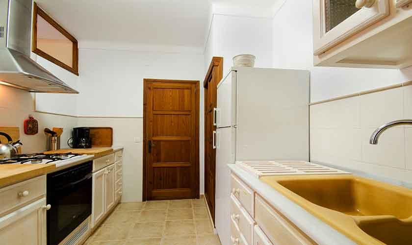 Küche Mallorca Ferienwohnung Strandnähe PM 3853