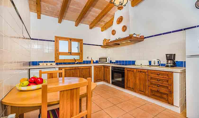 Küche Finca Mallorca Norden PM 3858