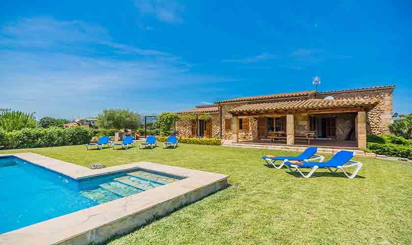 Pool und Finca Mallorca Norden PM 3858