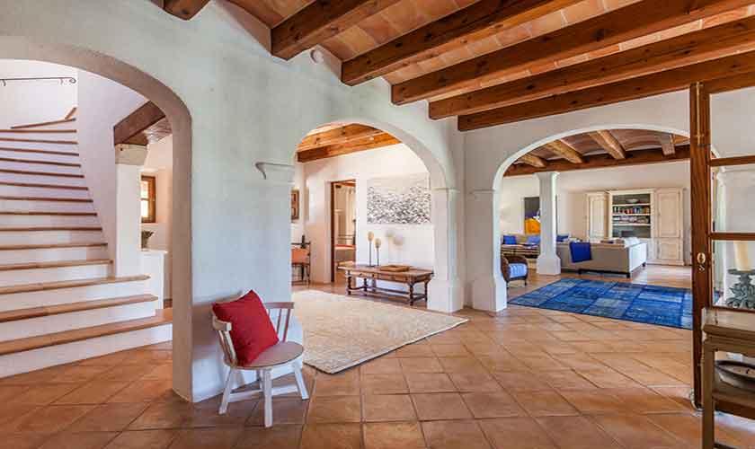 Wohnraum Finca Mallorca 6 Personen PM 3865