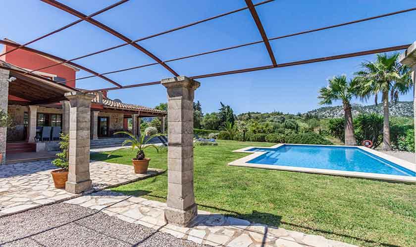 Pool und Terrasse Finca Mallorca 6 Personen PM 3865