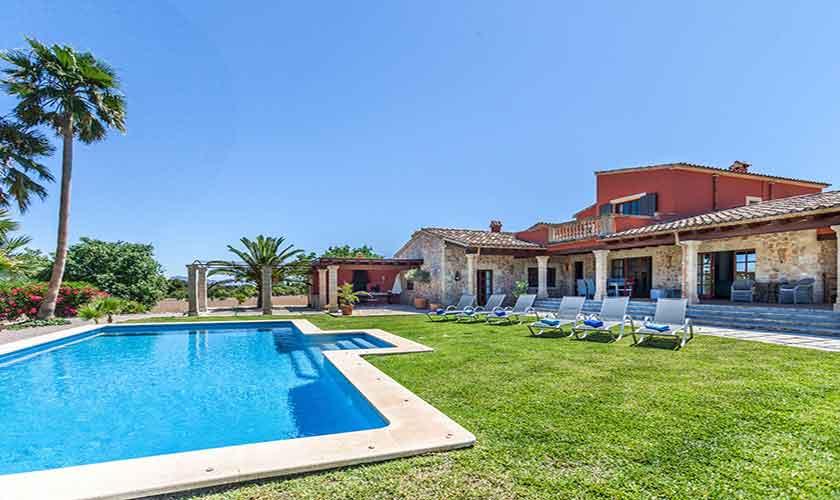 Pool und Finca Mallorca 6 Personen PM 3865