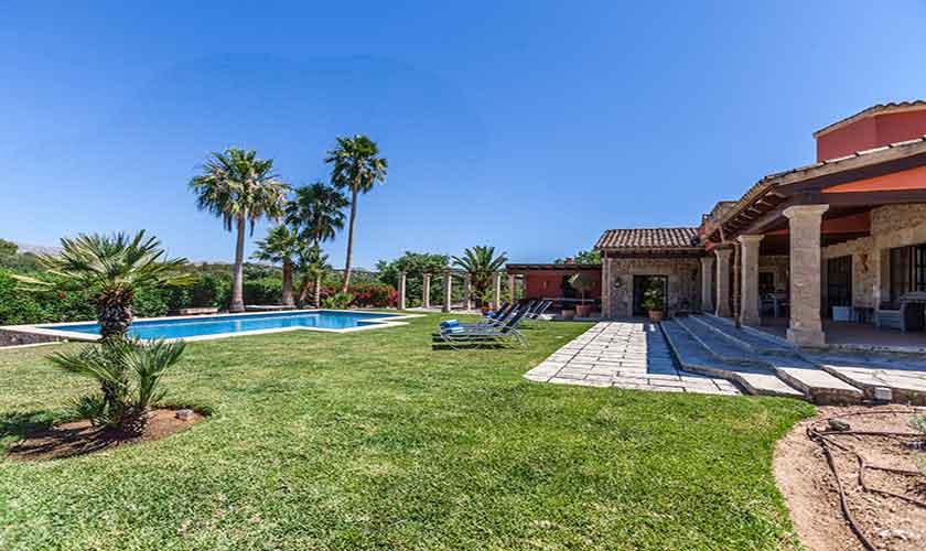 Garten Finca Mallorca 6 Personen PM 3865