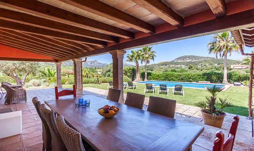 Terrasse Finca Mallorca 6 Personen PM 3865