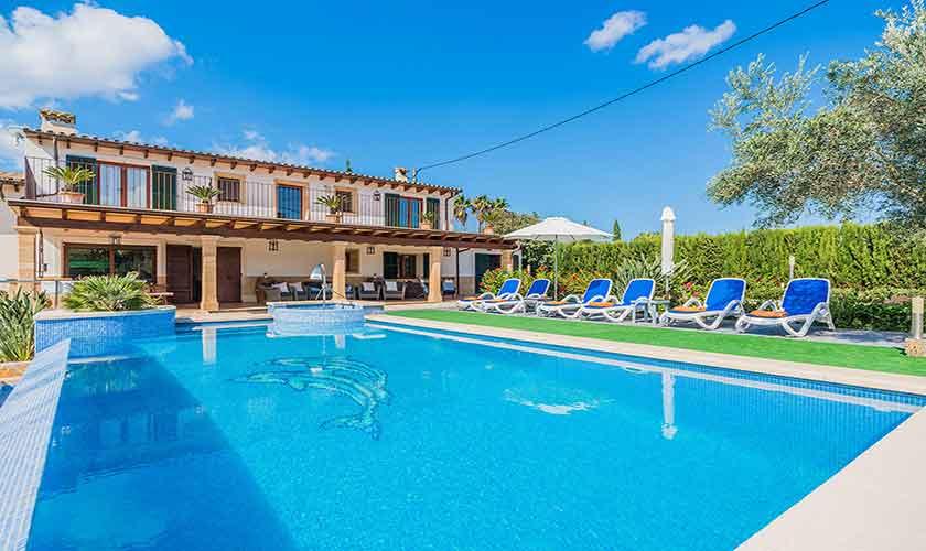 Pool und Finca Mallorca Norden PM 3868