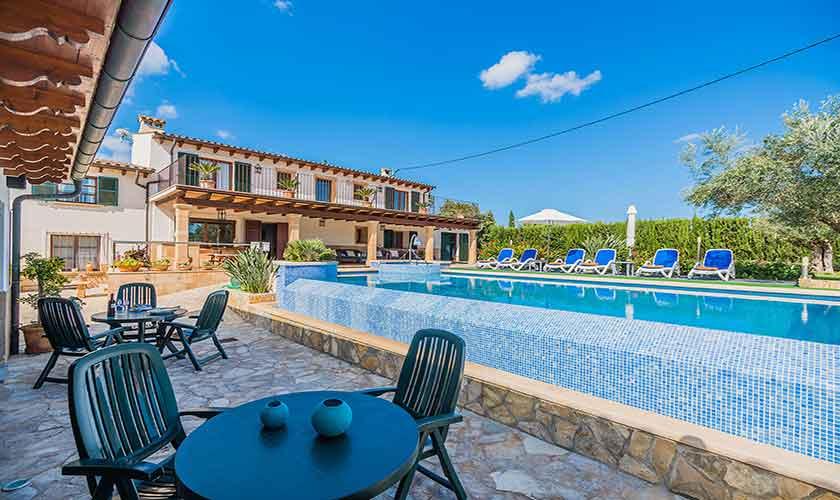 Pool und Finca Mallorca Norden 10 Personen PM 3868
