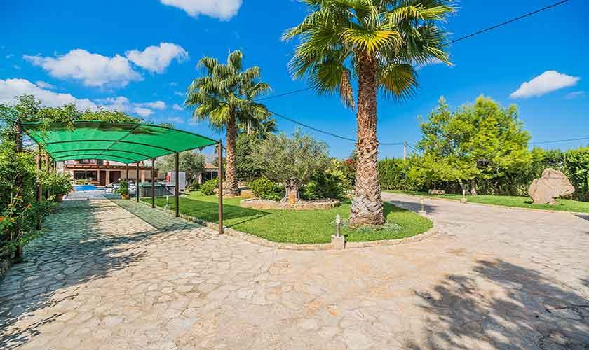 Garten Finca Mallorca Norden PM 3868