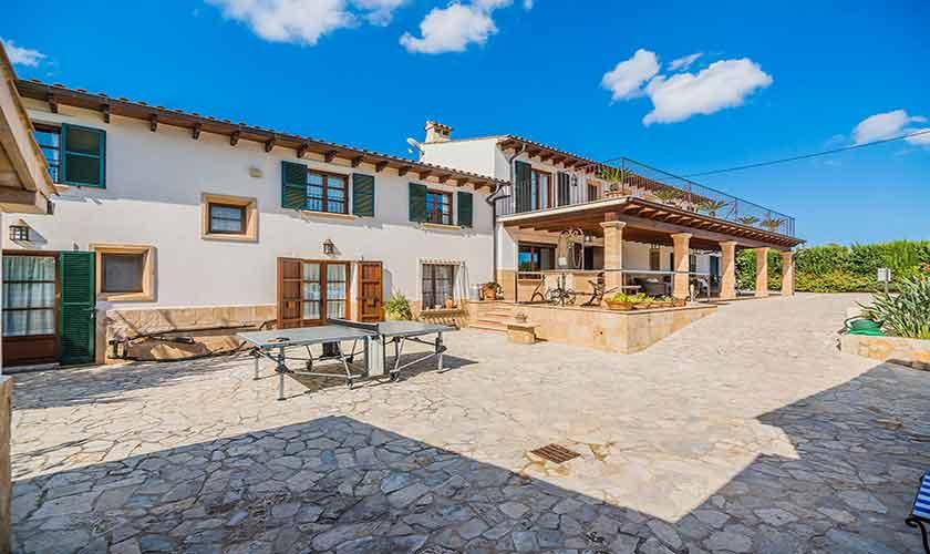 Blick auf die Finca Mallorca Norden PM 3868