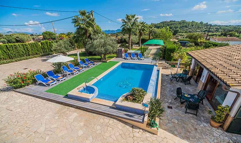 Poolblick Finca Mallorca Norden PM 3868