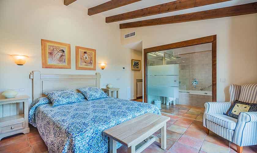 Schlafzimmer Finca Mallorca Norden 10 Personen PM 3868