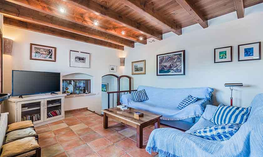 Wohnraum Finca Mallorca Norden 10 Personen PM 3868