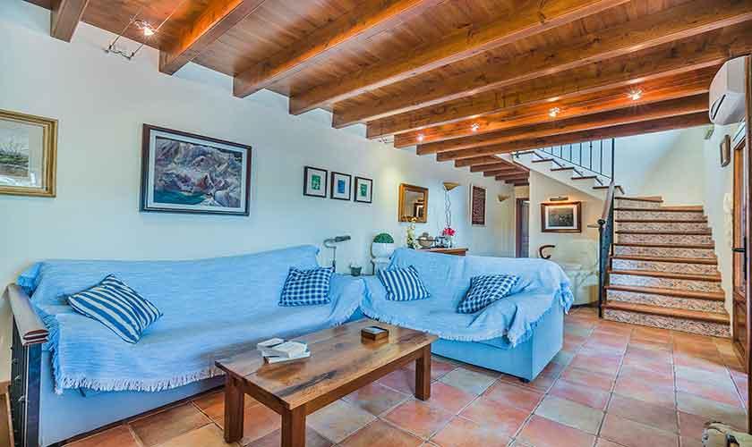 Wohnraum  Finca Mallorca Norden PM 3868