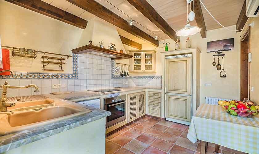 Küche Finca Mallorca Norden PM 3868