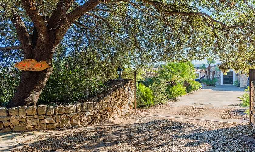 Eingangstor Finca Mallorca Norden PM 3875
