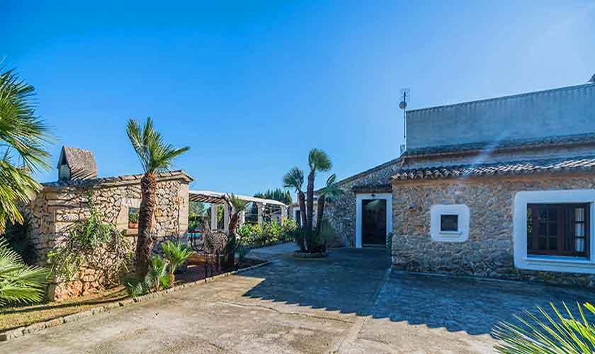 Blick auf die Finca Mallorca Norden PM 3875