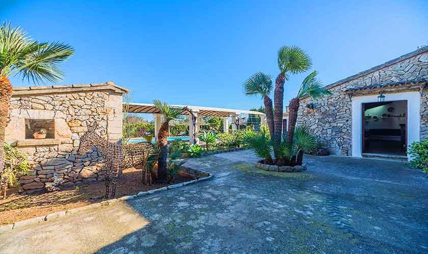Garten Finca Mallorca Norden PM 3875