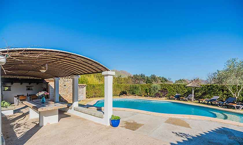 Pool und Finca Mallorca Norden PM 3875