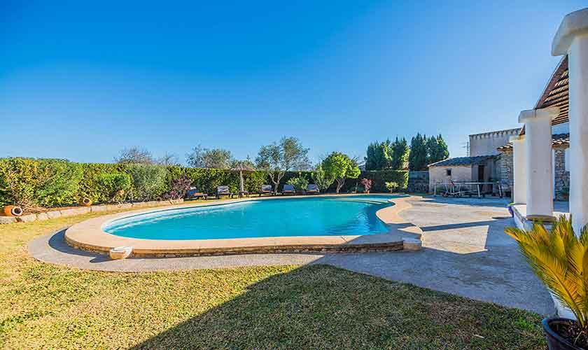 Poolblick Finca Mallorca Norden PM 3875