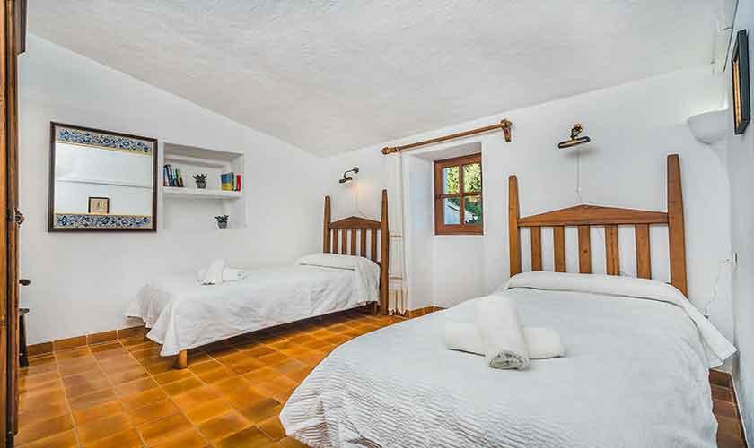 Zweibettzimmer Finca Mallorca Norden PM 3875