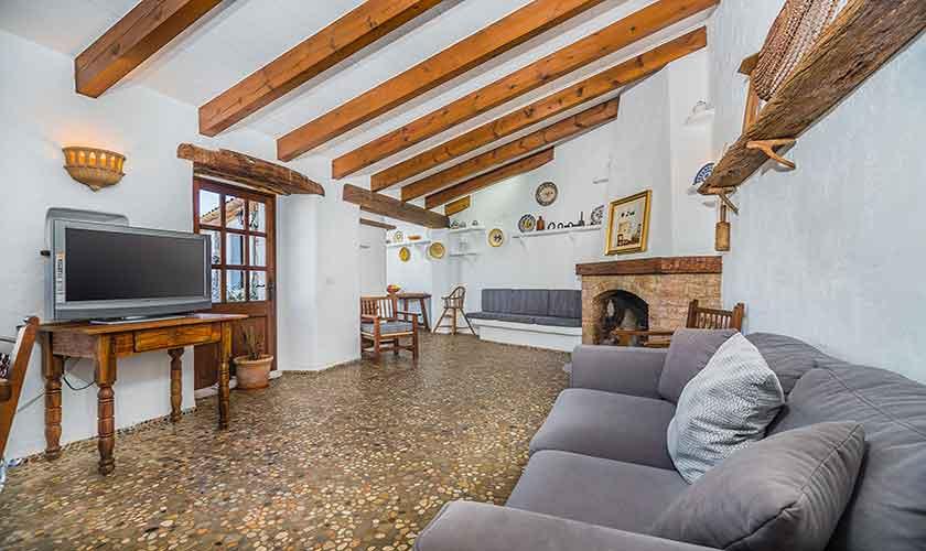 Wohnraum Finca Mallorca Norden PM 3875