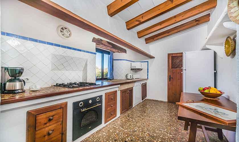 Küche Finca Mallorca Norden PM 3875