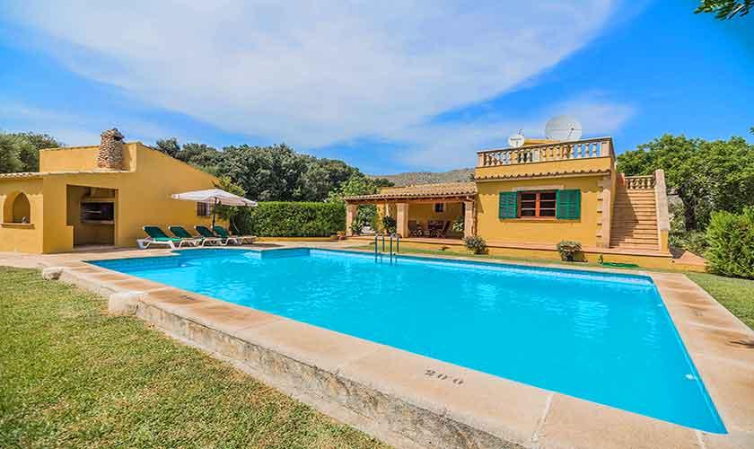 Pool und Finca Mallorca 6 Personen PM 3876