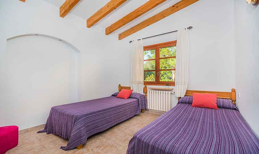 Schlafzimmer Finca Mallorca 6 Personen PM 3876