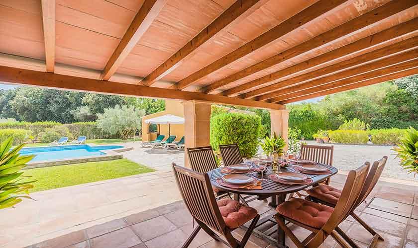Terrasse Finca Mallorca 6 Personen PM 3876