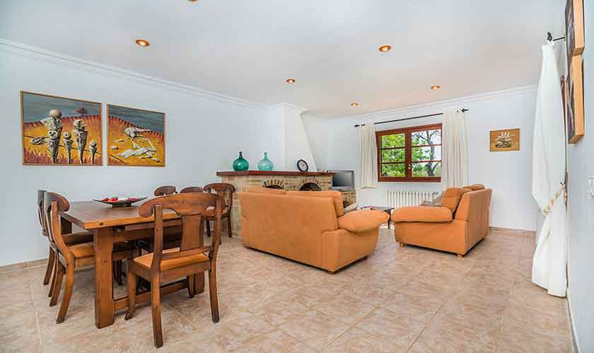 Wohnraum Finca Mallorca 6 Personen PM 3876