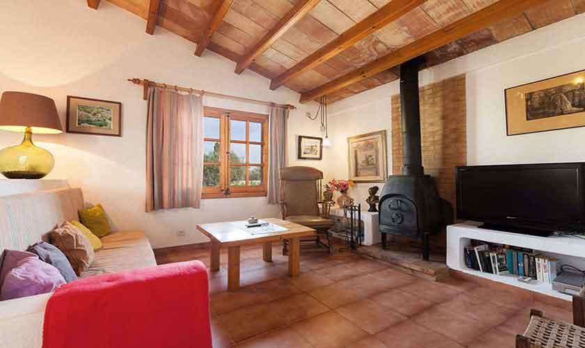 Wohnraum Finca Mallorca Norden PM 3878