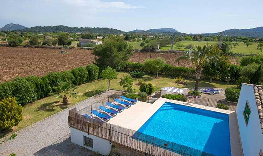 Blick auf die Finca Mallorca PM 3892