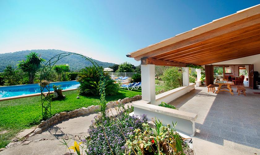Terrasse Finca Mallorca PM 3893