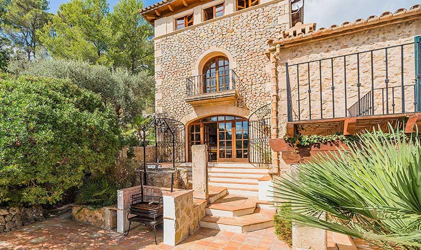 Terrasse  und Grillplatz Finca Mallorca PM 3910