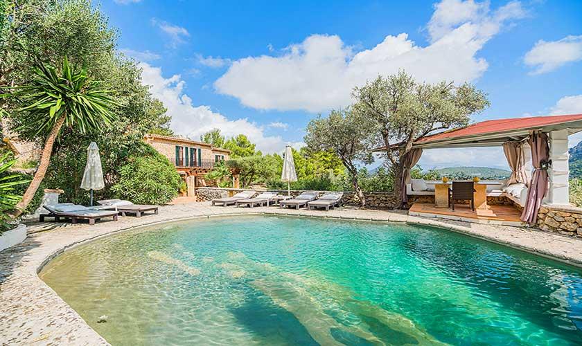 Pool und Terrasse  Finca Mallorca PM 3910