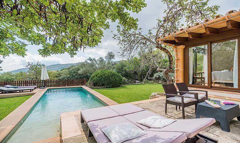 Pool und Terrasse Finca Mallorca PM 3911