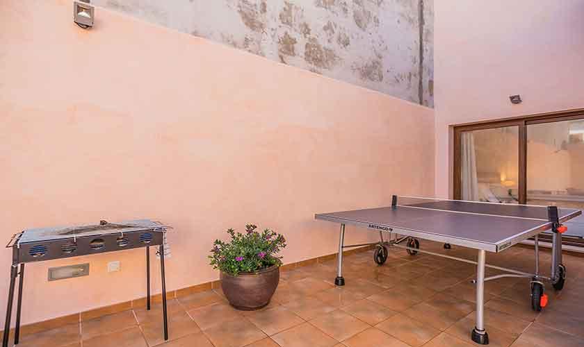 Tischtennis Ferienhaus Mallorca PM 3924