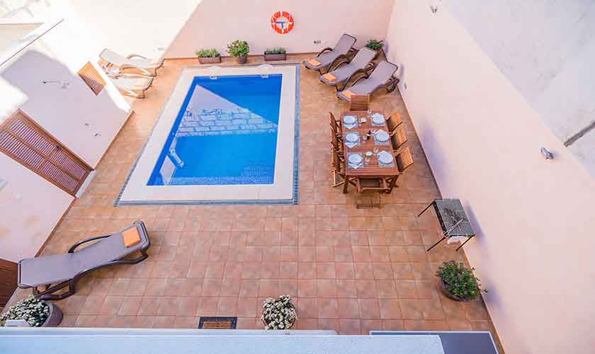 Terrasse Ferienhaus Mallorca PM 3924