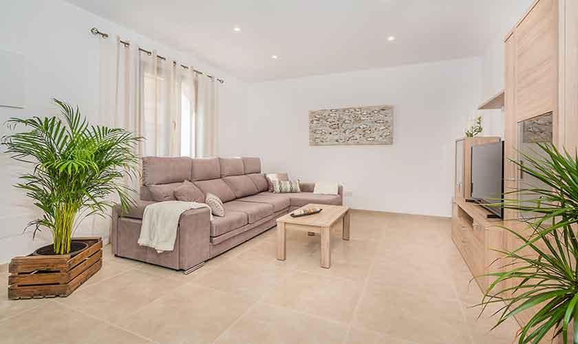 Wohnraum Ferienhaus Mallorca PM 3924