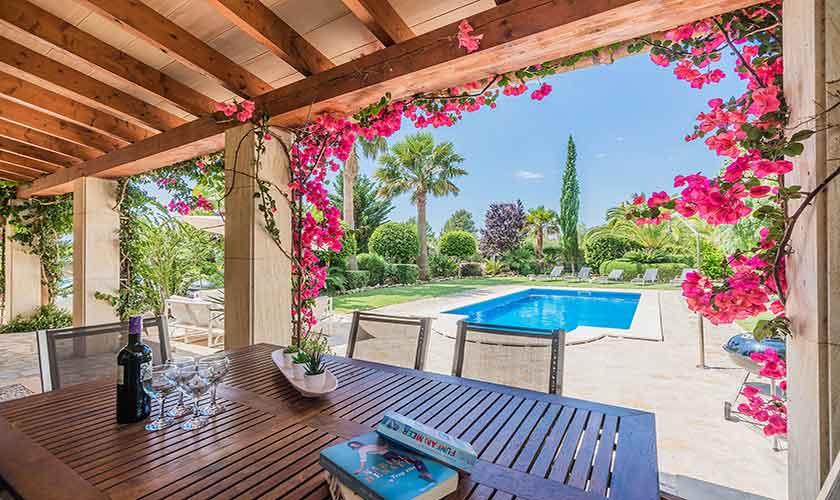 Terrasse Finca Mallorca für 6 Personen PM 3925