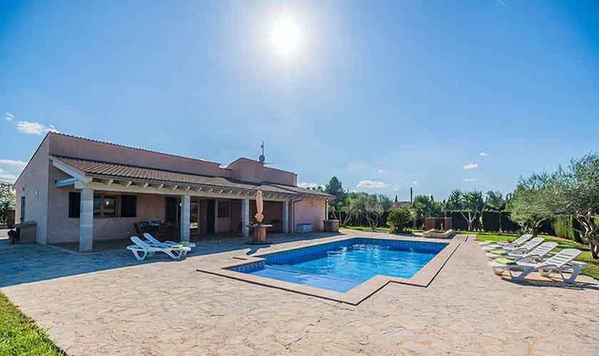 Pool und Finca Mallorca Norden PM 3926