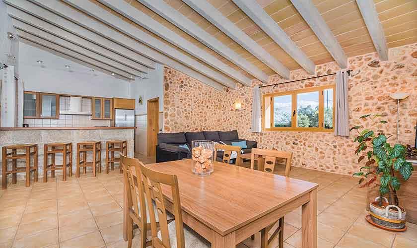 Küche Finca Mallorca Norden PM 3926