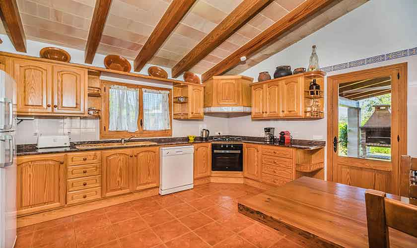 Küche Finca Mallorca Norden PM 3940