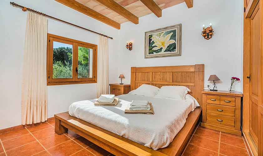 Schlafzimmer Finca Mallorca Norden PM 3940