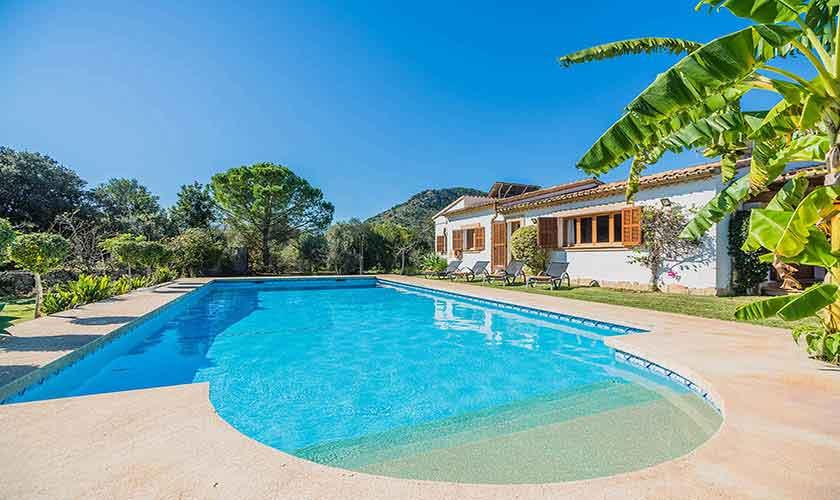 Pool und Finca Mallorca Norden PM 3940