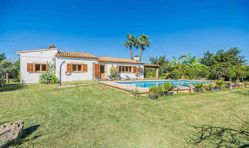 Rasen und  Finca Mallorca Norden PM 3940