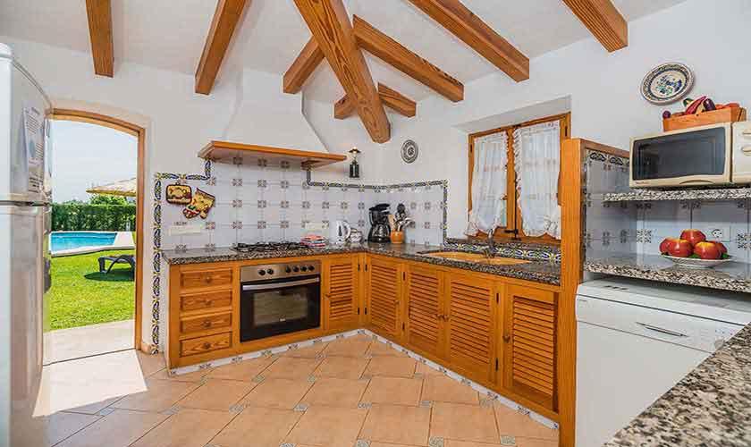 Küche Ferienhaus Mallorca PM 3971