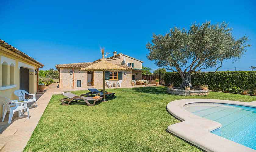 Pool und Ferienfinca Mallorca PM 3971