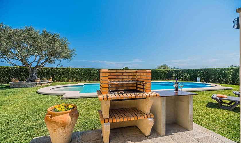 Pool und Grill Finca Mallorca PM 3971